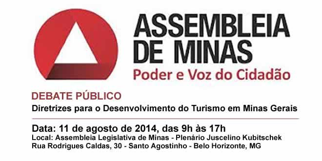 ALMG – Debate Público – Desenvolvimento do Turismo em Minas Gerais