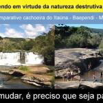 alerta cachoeira do itauna seca