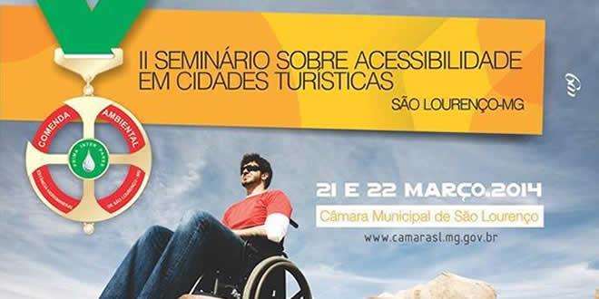 II Seminário sobre acessibilidade em cidades turísticas
