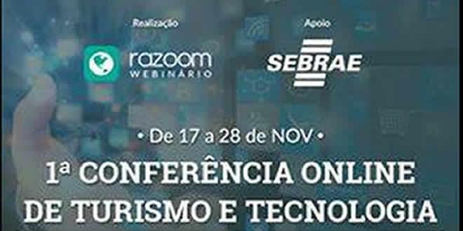 1º Conferência Online de Turismo e Tecnologia.