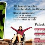 III seminário acessibilidade em cidades turistica