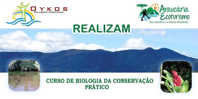 CURSO DE BIOLOGIA DA CONSERVAÇÃO – PRÁTICO