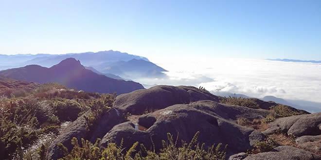 Pico dos Marins com pouso