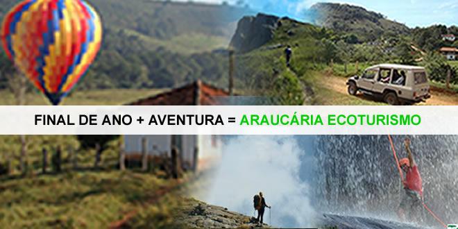 Final de Ano +  Aventura = Araucária Ecoturismo